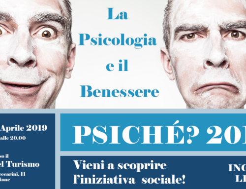 Psiché 2019 'La psicologia e il benessere' – 7 Aprile – Riccione