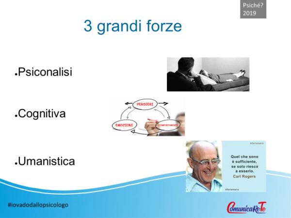 le 3 forze della terapia psiologic - Stefano Bernardi - Psiché 2019 Riccione Comunicarete