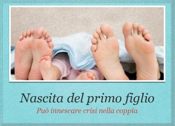 nascita del primo figlio e crisi di coppia