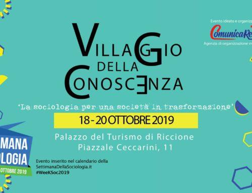 'Villaggio della Conoscenza' 2019 – Riccione
