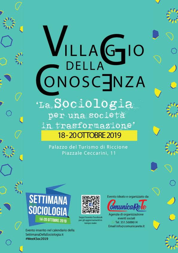 Programma_Villaggio-della-Conoscenza_La-Sociologia-per-una-società-in-trasformazione_18_19_20_Ottobre_Palazzo-del-Turismo_Riccione