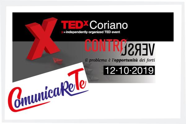 ComuniceReTe al TedX Coriano 2019 Controverso